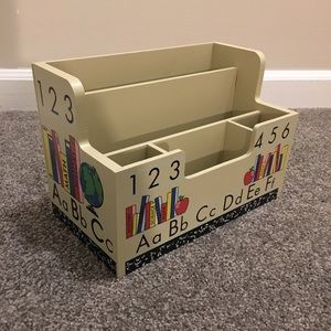 Teacher Desk Organizer